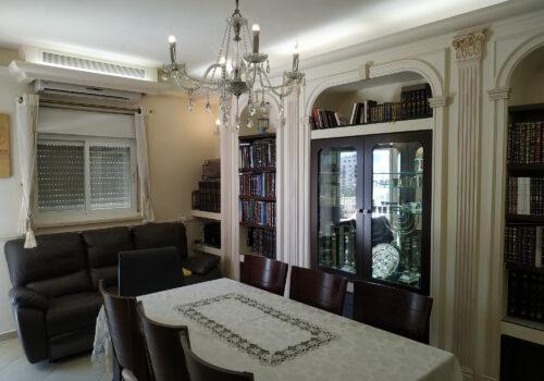 דירת שלושה וחצי חדרים במרכז ירושלים